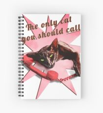 The only cat you should call Spiral Notebook