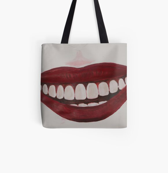 Keep Smiling :) All Over Print Tote Bag