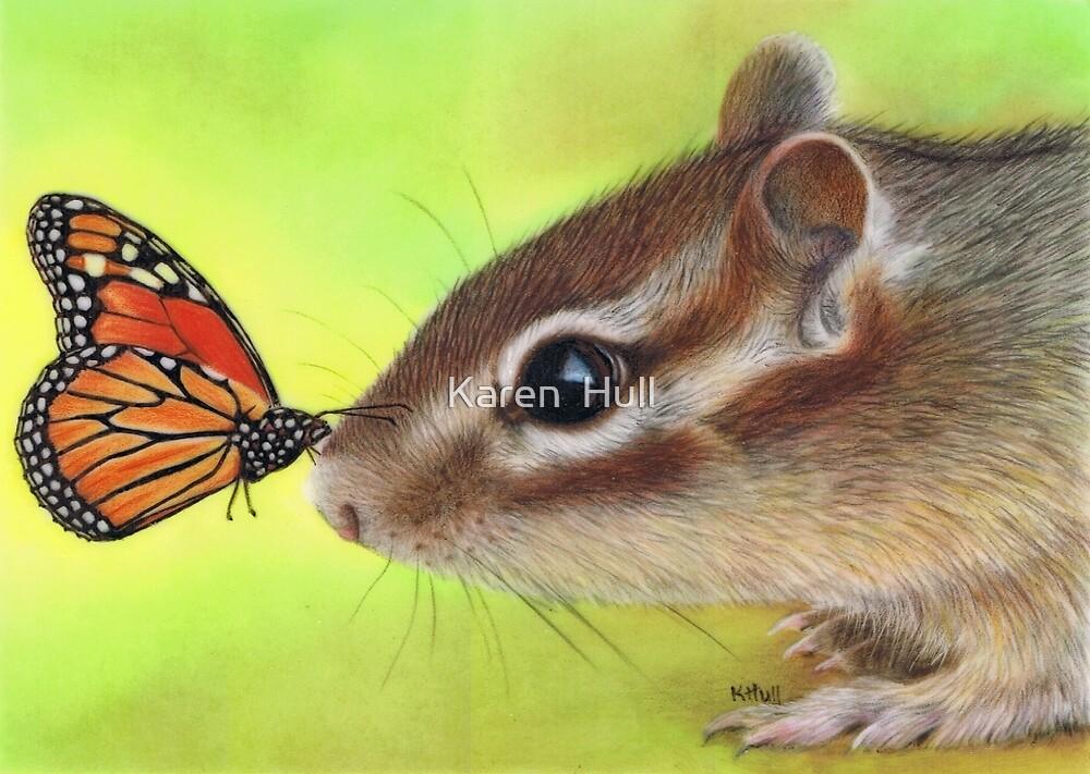 Butterfly Kiss by Karen  Hull