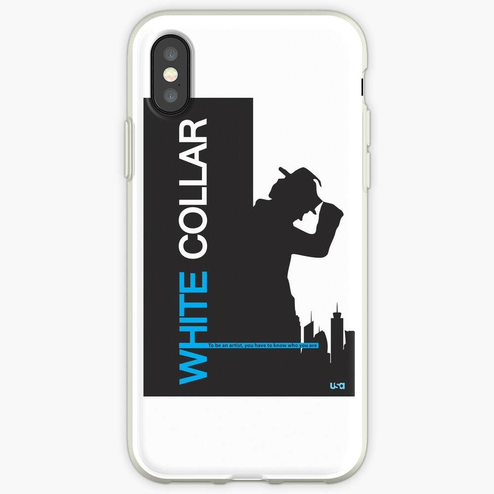 White Collar iPhone Case & Cover