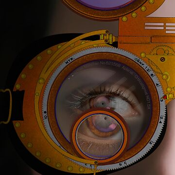 eye as a lens - steampunk variations - zoom by watersoluble