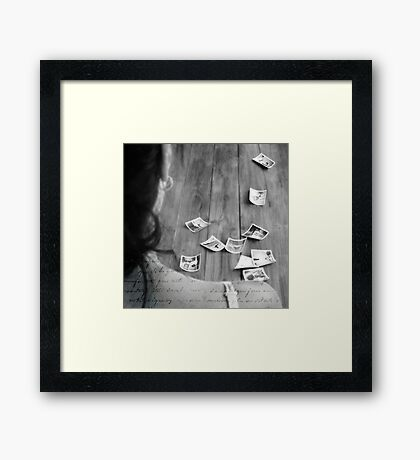 past VIII Framed Print