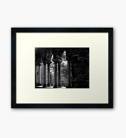 The Shadows Speak Framed Print