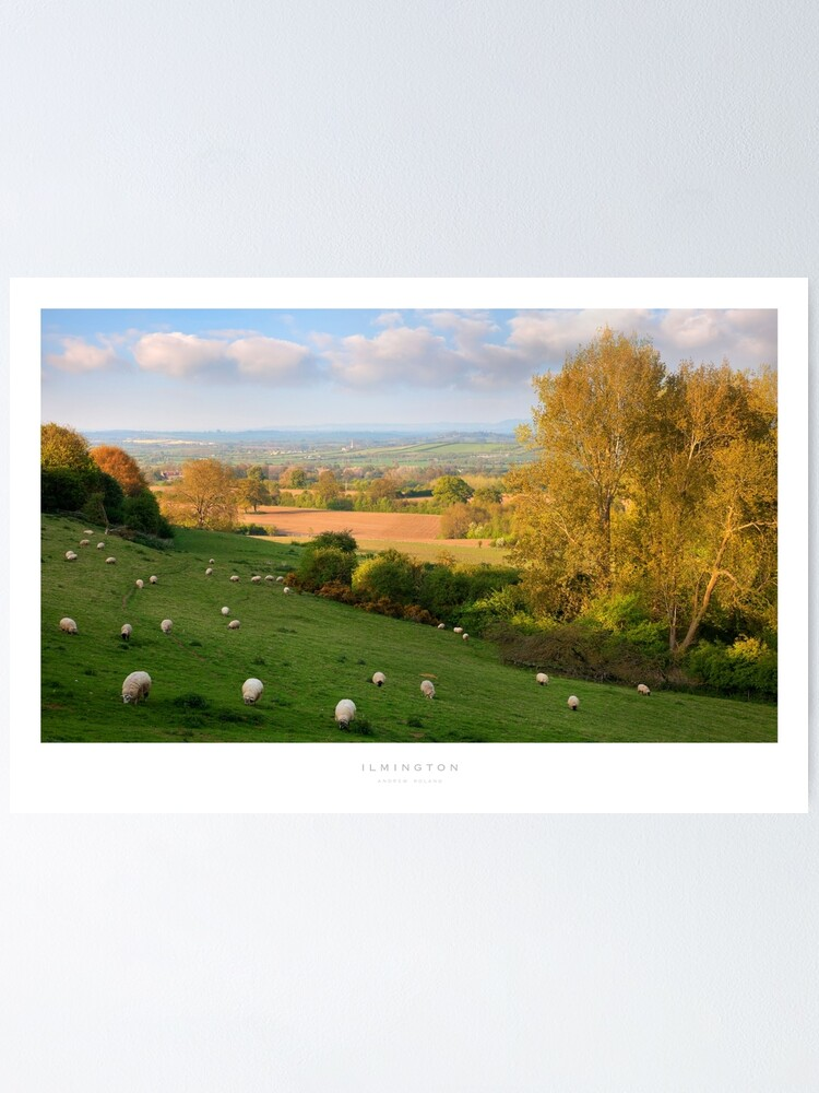 Alternate view of Ilmington, Warwickshire Poster