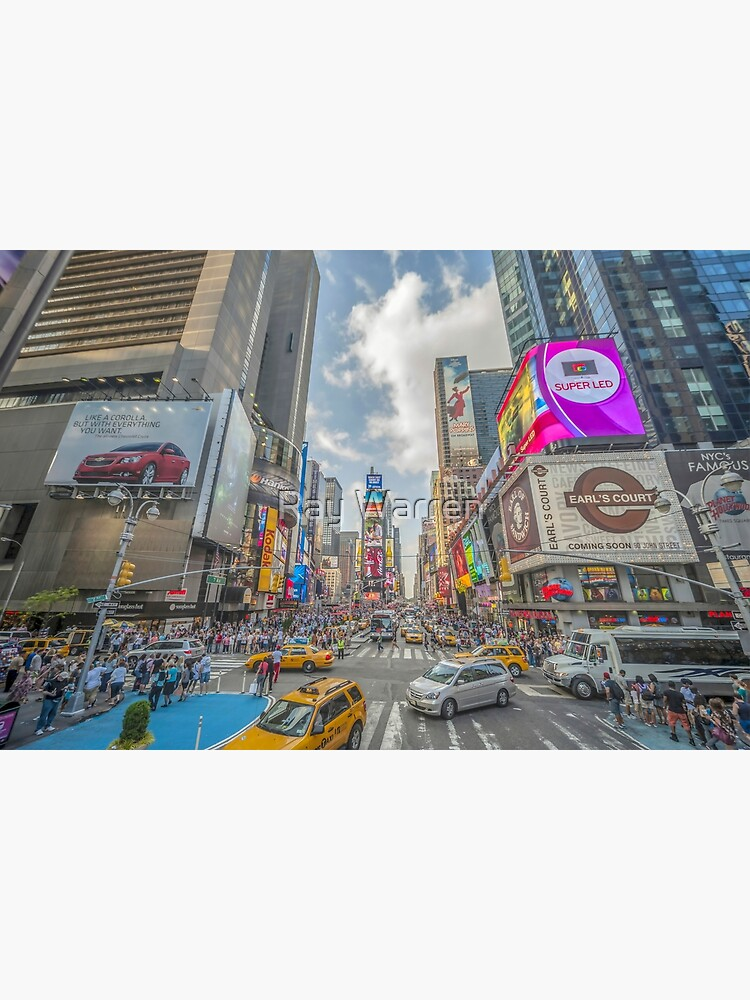 Times Square Traffic I by RayW