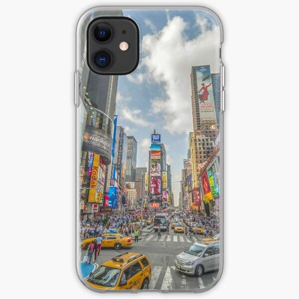 Times Square Traffic I iPhone Soft Case