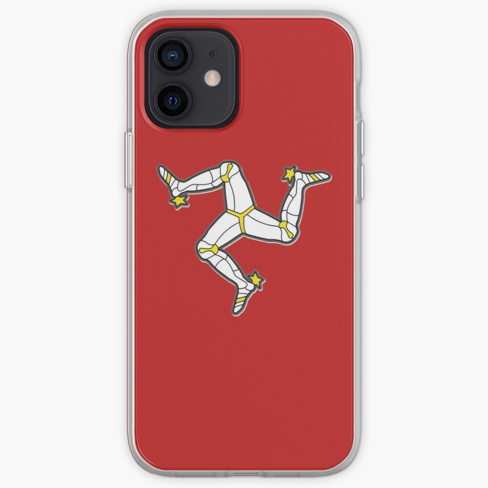 Isle Of Man 3 Legs Of Man Traditional Manx Flag Celtic Triskelion iPhone Case & Cover