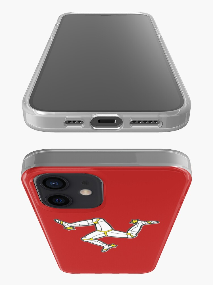 Alternate view of Isle Of Man 3 Legs Of Man Traditional Manx Flag Celtic Triskelion iPhone Case & Cover
