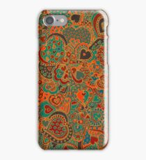 Doodle Hearts by an official DA Member. (Doodlers Anonymous) iPhone Case/Skin