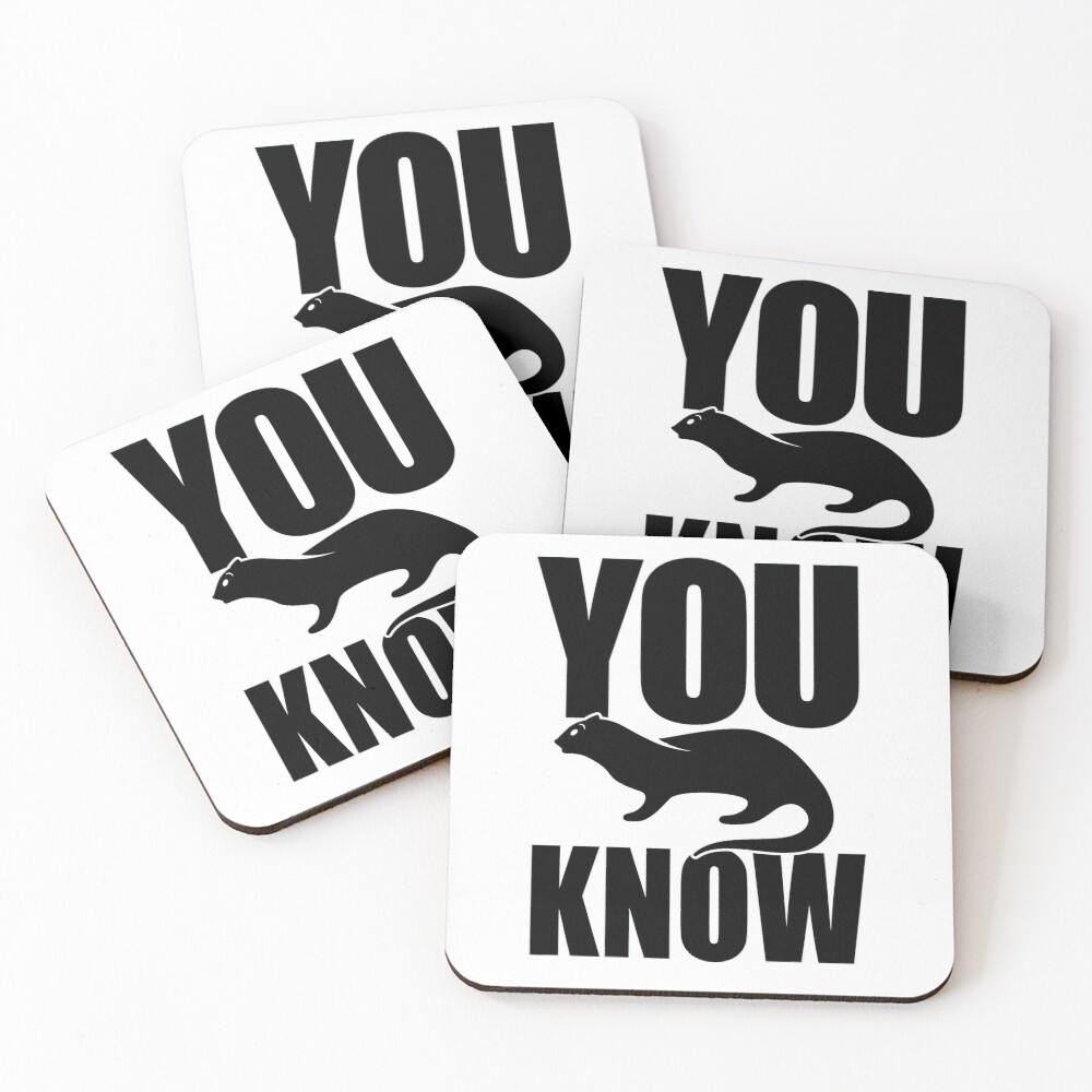 You Otter Know Coasters (Set of 4)