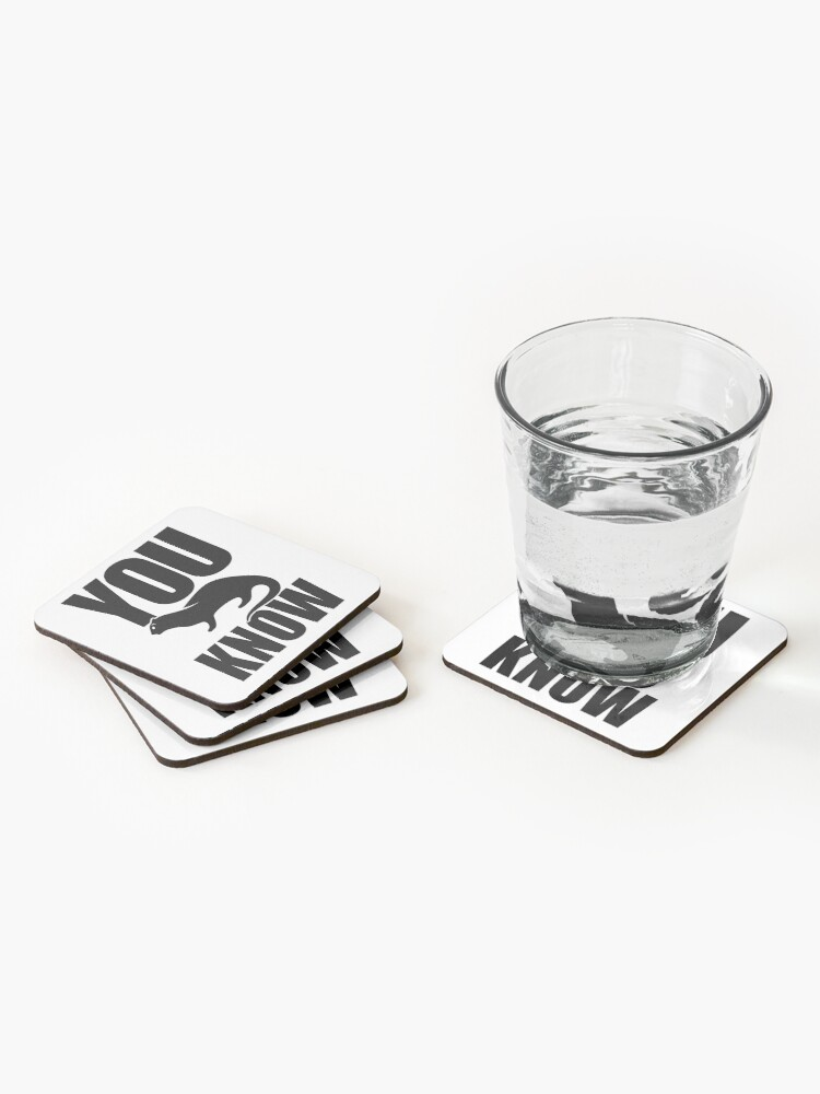 Alternate view of You Otter Know Coasters (Set of 4)