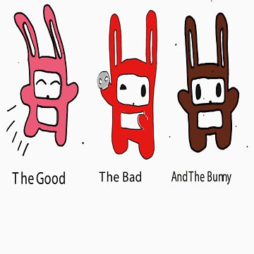 The Good, The Bad and The Bunny by nibbles9