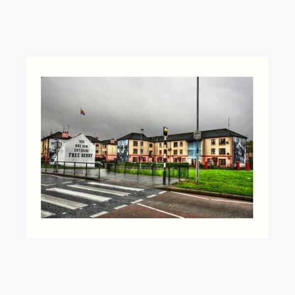 Free Derry Art Print