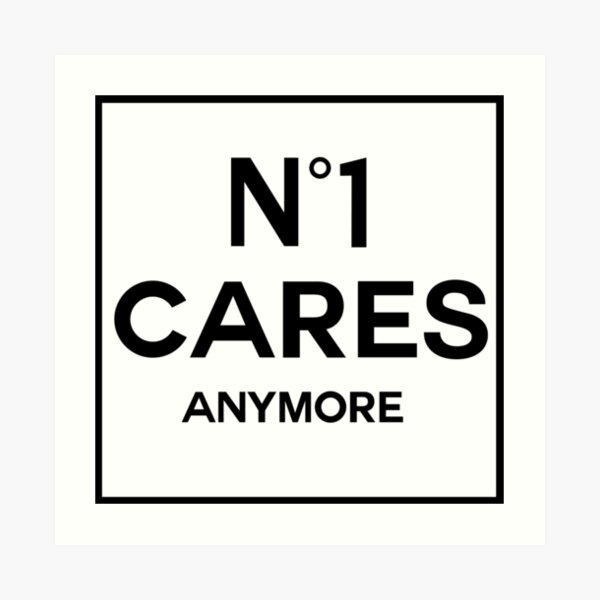 No 1 Cares Plus Impression artistique