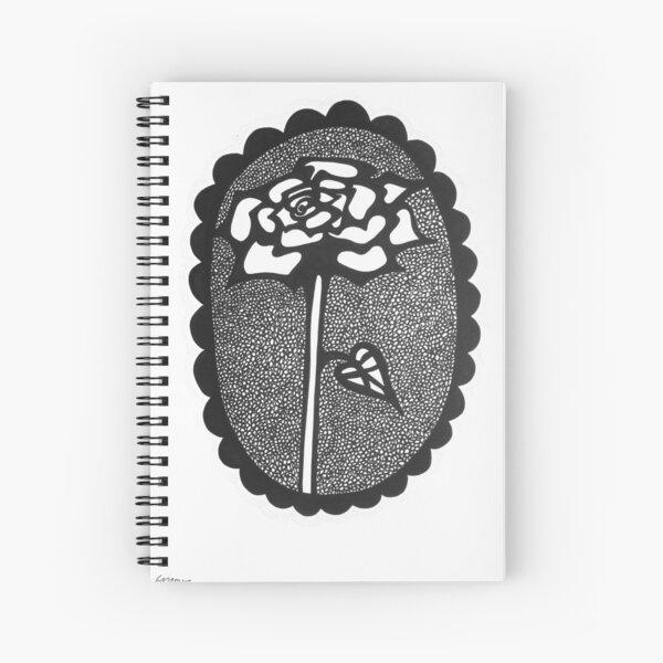 Cameo Rose Cahier à spirale