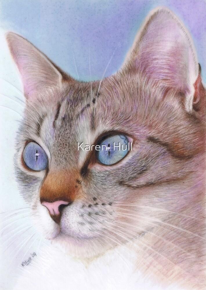 Wedgewood Blue by Karen  Hull