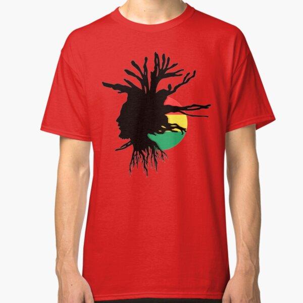 Jah Rastafari T-SHIRT cola parody Reggae rasta jamaica rastafarian wear dread
