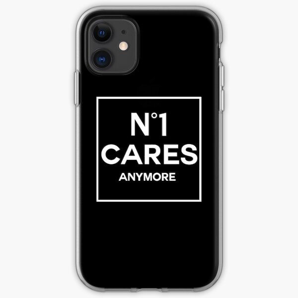 No 1 Cares Anymore. iPhone Soft Case