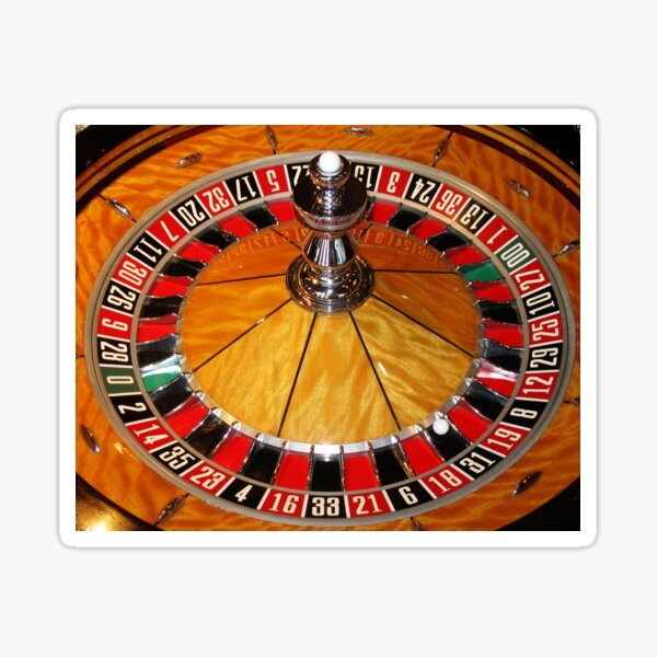 The Roulette Wheel Sticker