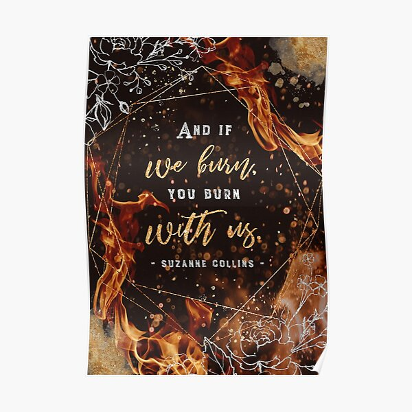 If we burn Poster