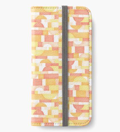 Orangeometries #redbubble #pattern iPhone Wallet