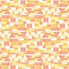 Orangeometries #redbubble #pattern by designdn
