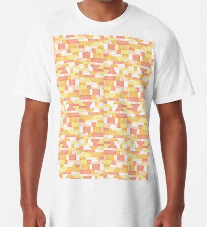 Orangeometries #redbubble #pattern Long T-Shirt