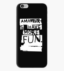 AMATEURS iPhone Case