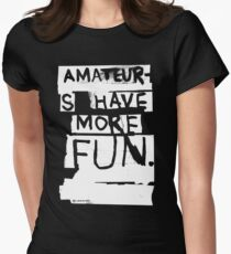 AMATEURS Women's Fitted T-Shirt