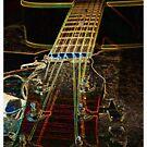 Guitar Tee by gazmercer