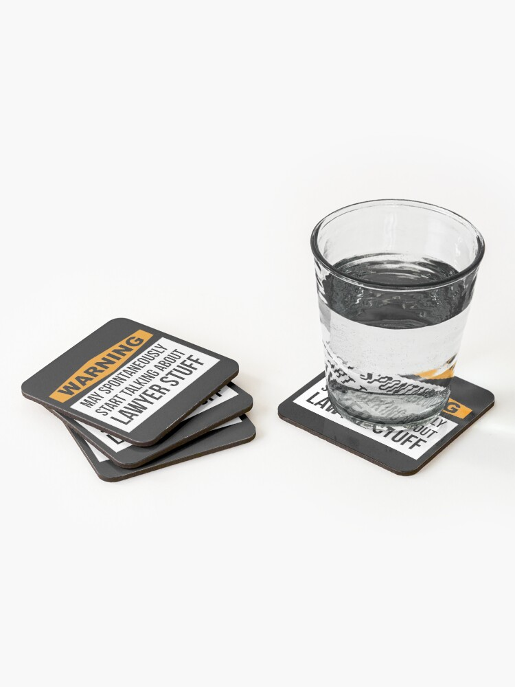 Alternate view of Lawyer Coasters (Set of 4)