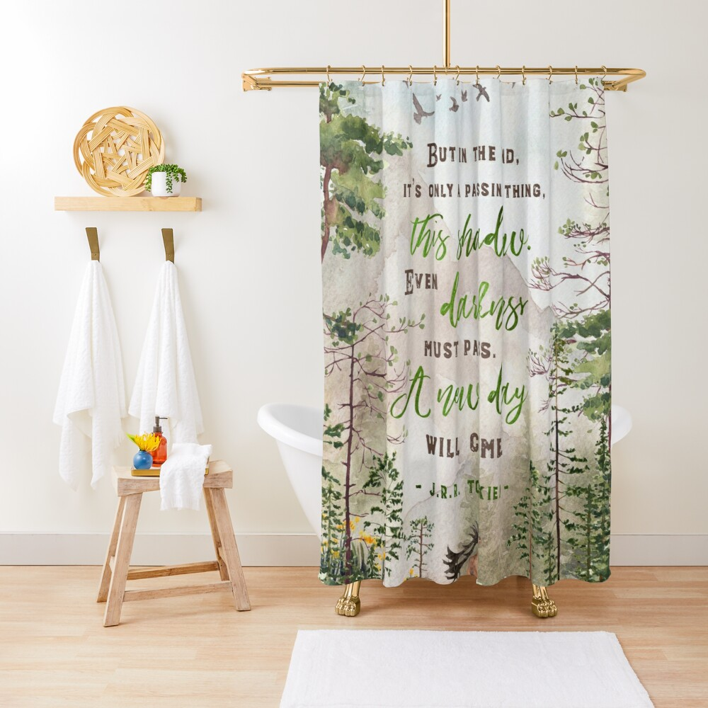 But in the end Shower Curtain