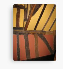 Colours in ancient wall Canvas Print