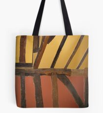 Colours in ancient wall Tote Bag