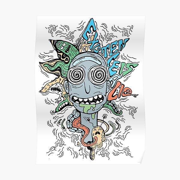 Trippy Rick Poster