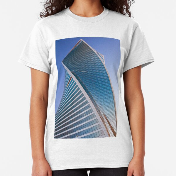 Evolution tower Moscow city Classic T-Shirt