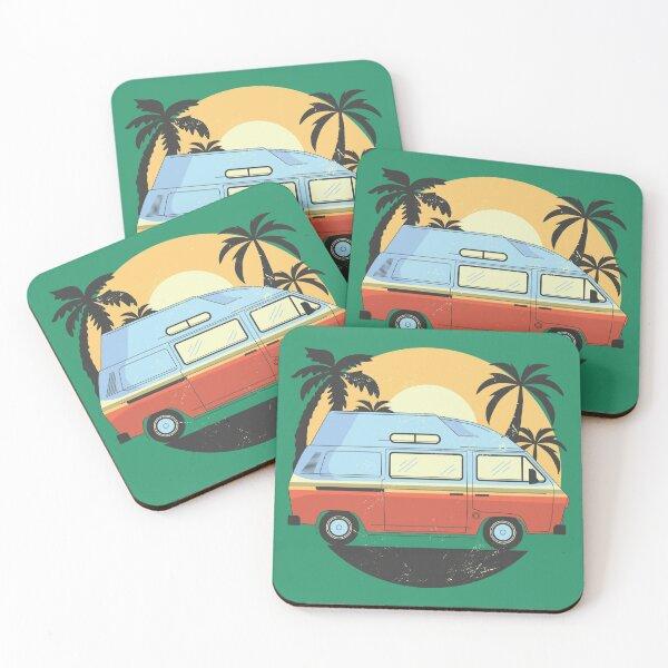 Camper Van Coasters (Set of 4)