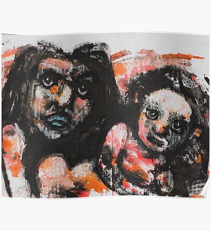 Faces, Bernard Lacoque-25 Poster