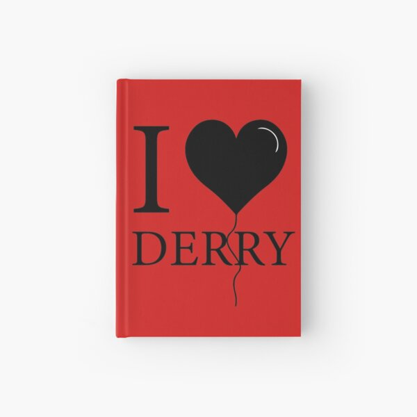 I Love Derry  Hardcover Journal