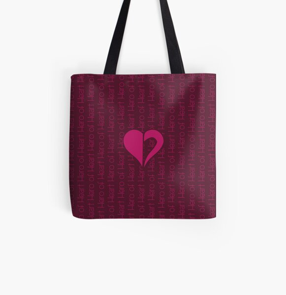 Hero Of Heart All Over Print Tote Bag