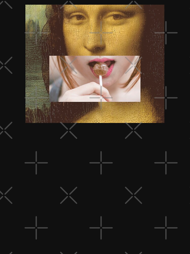 Mona Lisa Lollipop Selfie Search Results Web results  Leonardo da Vinci Pop Culture Print by thespottydogg