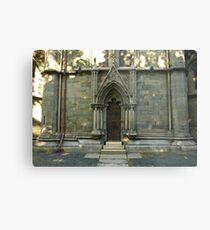 A door - Nidaros Cathadral Metal Print