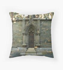 A door - Nidaros Cathadral Throw Pillow