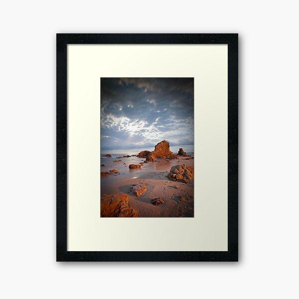 Flynns Beach at Port Macquarie Framed Art Print