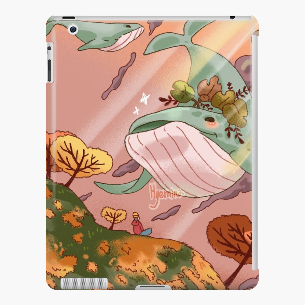Giant Whales iPad Case & Skin