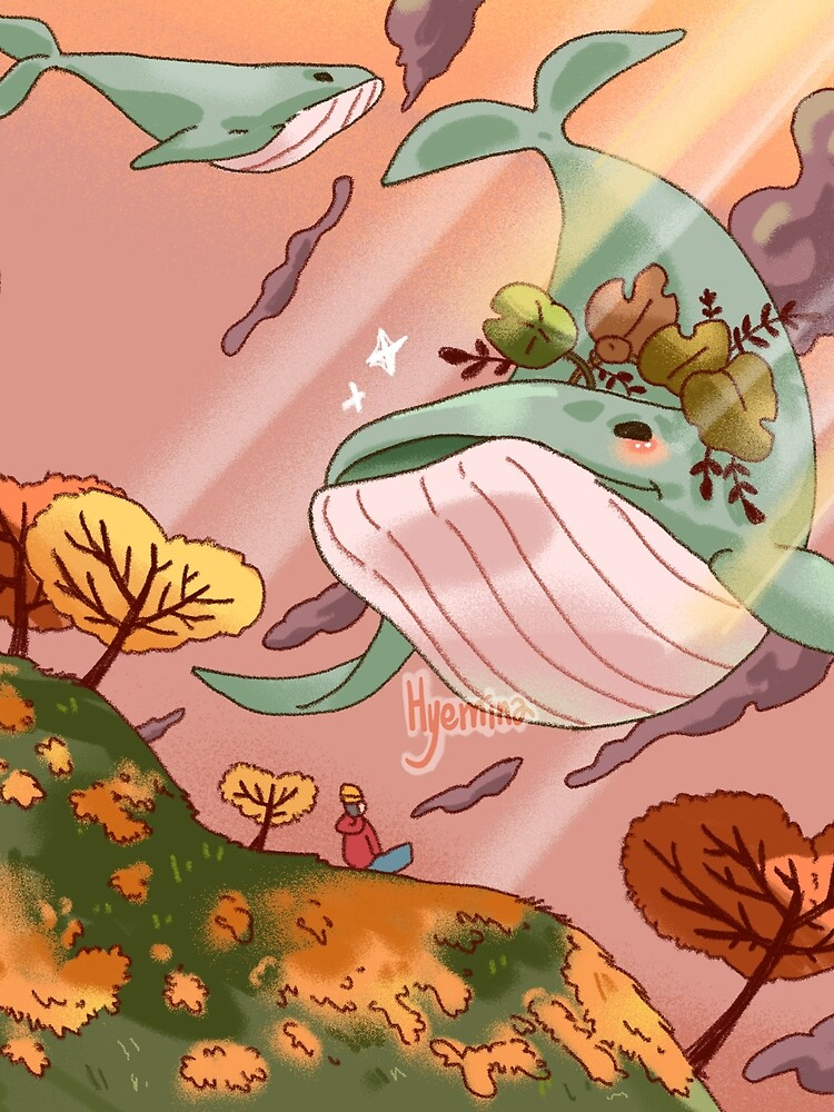 Giant Whales by HYEMINA