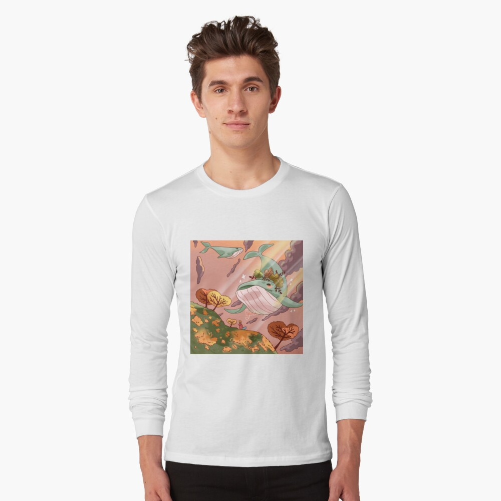 Giant Whales Long Sleeve T-Shirt