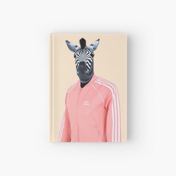 Pink zebra  Hardcover Journal