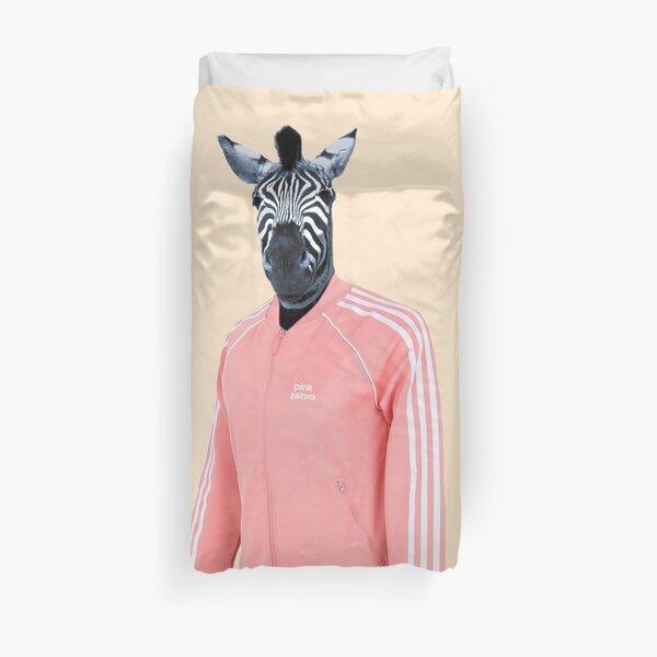 Pink zebra  Duvet Cover