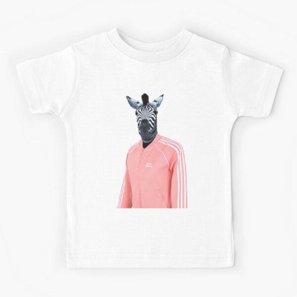Pink zebra  Kids T-Shirt